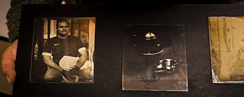 Fotografía analógica y cianotipo en la ciudad de Botogá