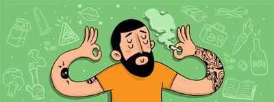 Cómo me traté el cáncer a punta de dietas, meditación y marihuana