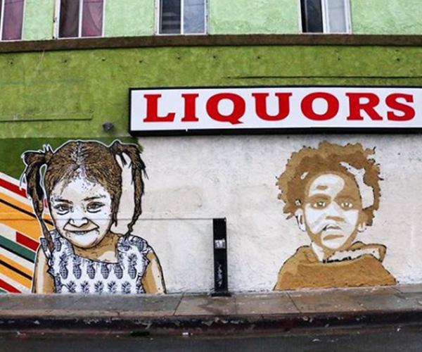 El arte urbano latinoamericano se toma el sur de California para criticar la imposición de fronteras