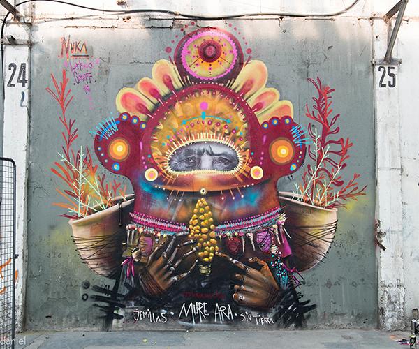 Latino Graff en fotos: sabor y trazos latinos en los muros de Francia