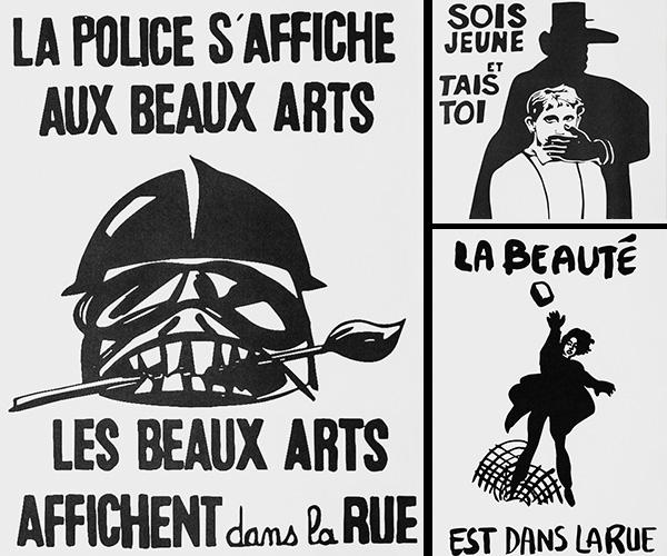 'Las calles son nuestras: La revuelta gráfica': un compilado de carteles de Mayo del 68 y su reinterpretación de la realidad nacional