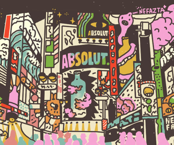 Absolut Creative Competition: la competencia de Absolut Vodka para encontrar al artista que diseñará su próxima campaña