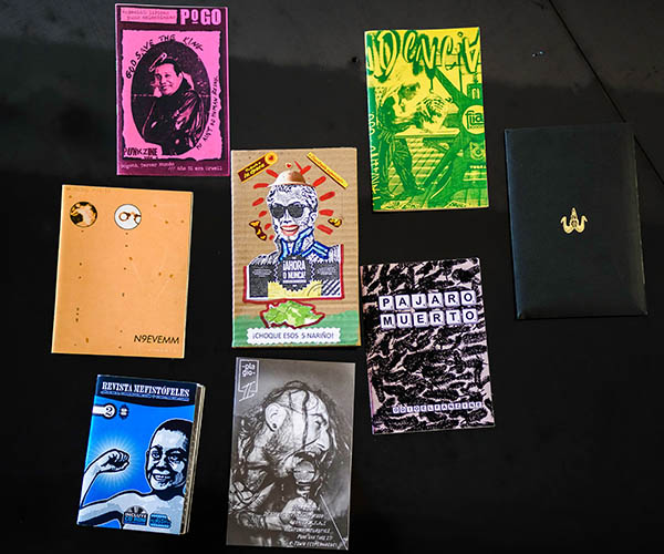 colección de fanzines