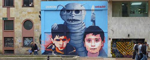 orfanato excusado street art
