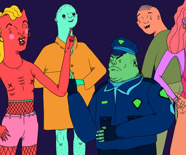 Tour Delirio, un cómic animado sobre la privacidad en Internet con salsa y control