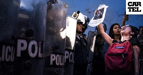 Una mirada a las luchas sociales en Sudamérica desde el ojo de Tadeo Bourbon
