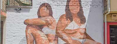 19 mujeres se toman los muros de Popayán