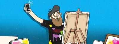 que arte hacen los millenials