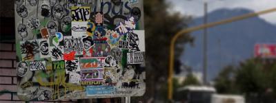 Calcas ya clásicas que forran las calles bogotanas