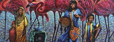 artistas colombianos en el exterior
