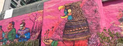 arte urbano indigenista