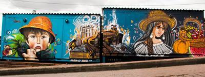 Beca ciudad de Bogotá de arte urbano