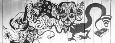 Shaltmira: la artista urbana de Lituania que dejó su magia caótica en Bogotá