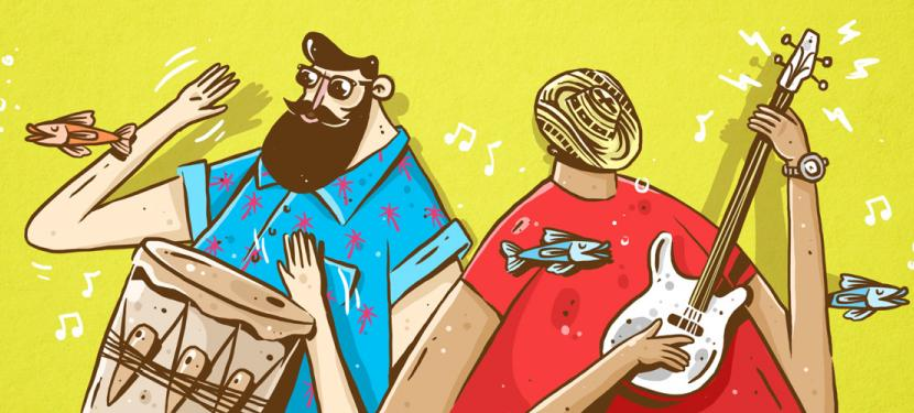 Reinvención de la música tradicional colombiana