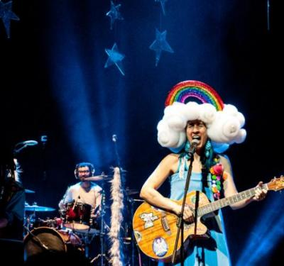 El concierto de Aterciopelados en Bogotá2