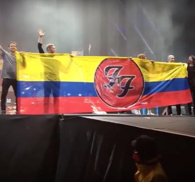 foo fighters en Colombia
