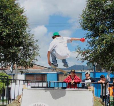 El deporte urbano también es un generador de cambio social en Bogotá