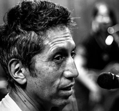 Héctor Buitrago, integrante de Aterciopelados con Andrea Echeverri 2