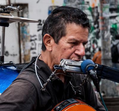 disco de músicos del rebusque callejero