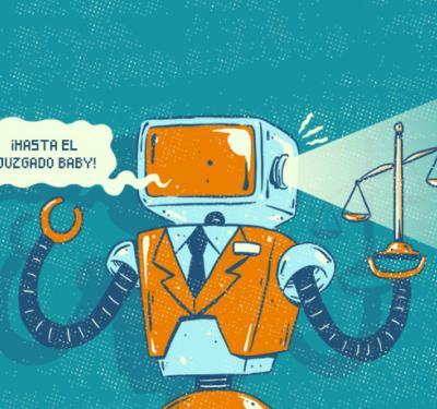 El abogado robot que quiere ser tan eficiente como Uber