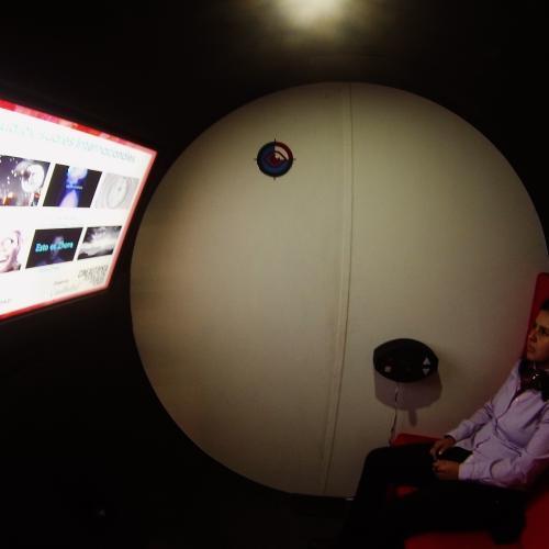La kinola, una micro sala de cine para acercar al espectador