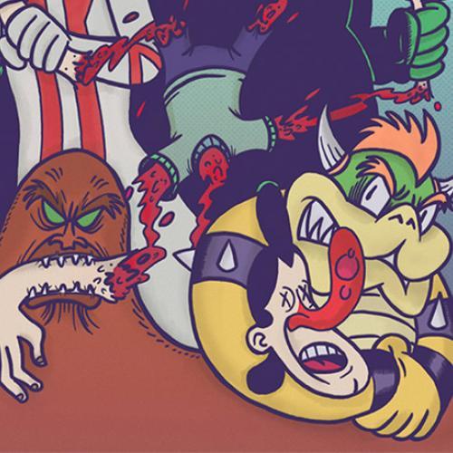 jim pixel comic colombiano