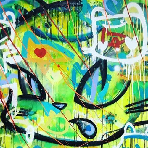 TOT: gatos surrealistas, pop art y la defensa de llevar el arte urbano a las galerías