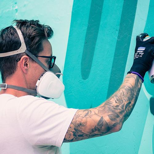 Ruda Fest: de parche entre grafiti y murales a gran formato