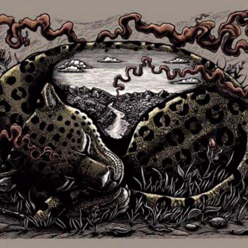 Cuadrada serigrafías de Stinkfish
