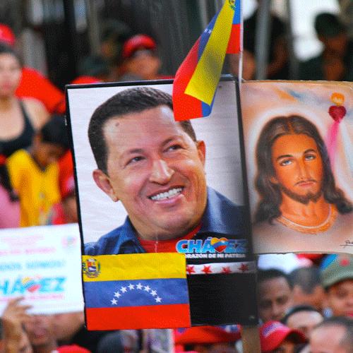 En 2010, Yoribeth Cuéllar entró al equipo de fotografía que siempre le hacía sombra a Hugo Chávez, dentro del Palacio de Miraflores o fuera de él