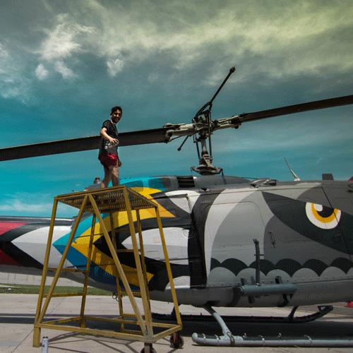 Del grafiti rebelde al muralismo colosal: Ceroker y sus 15 años de arte urbano
