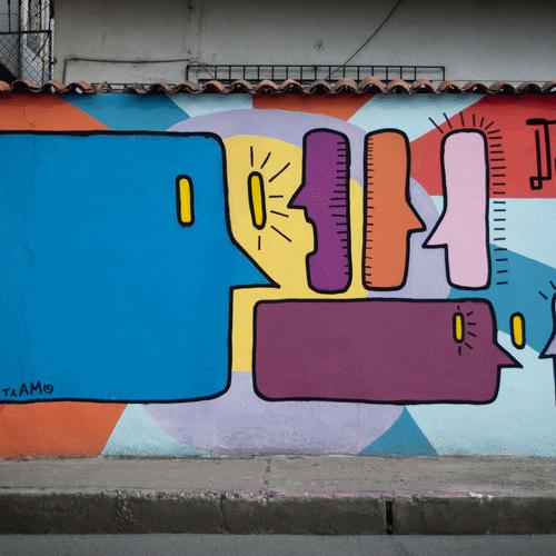 Con arte sinceptual, Daniel Adum Gilbert le da un vuelco al status quo en Ecuador