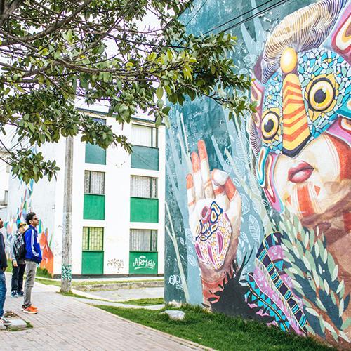 grafiti bogota ciudad bolivar