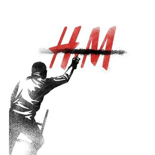 h&m moda grafiti