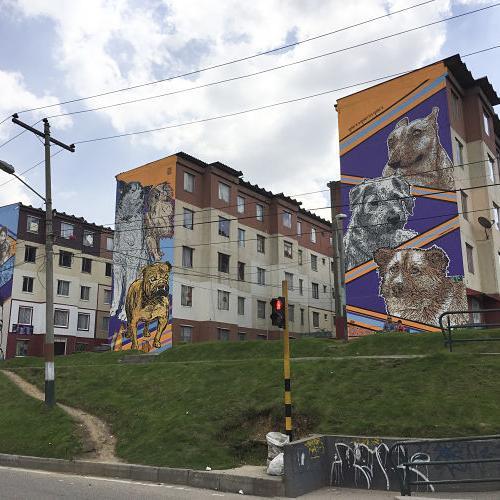 mural heriberto de la calle bogota
