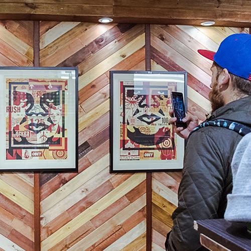 Obey Exposición en Bogotá