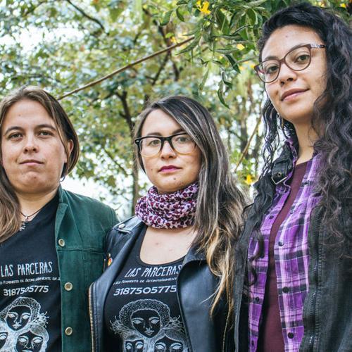 Las Parceras: jóvenes que se la juegan por el aborto seguro y feminista
