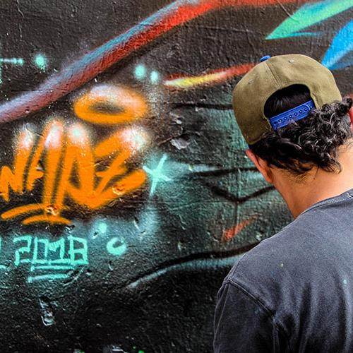 Wapz, nuevo representante de la Mesa Distrital de Grafiti