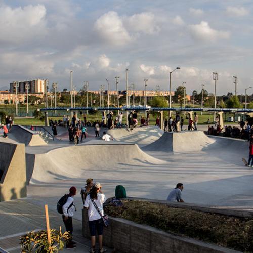 skatepark más grande de Bogotá