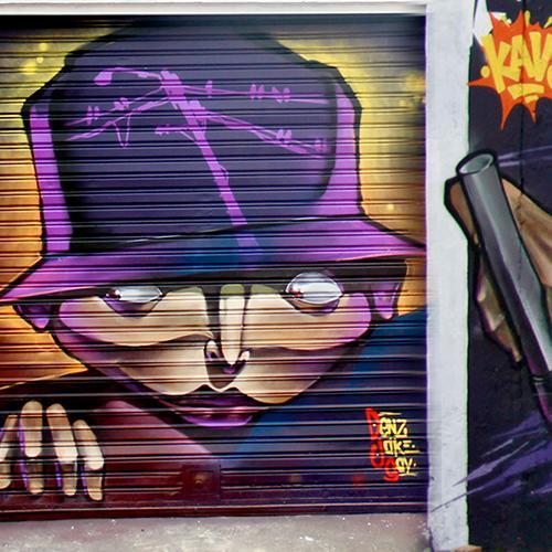 graffiti tripido
