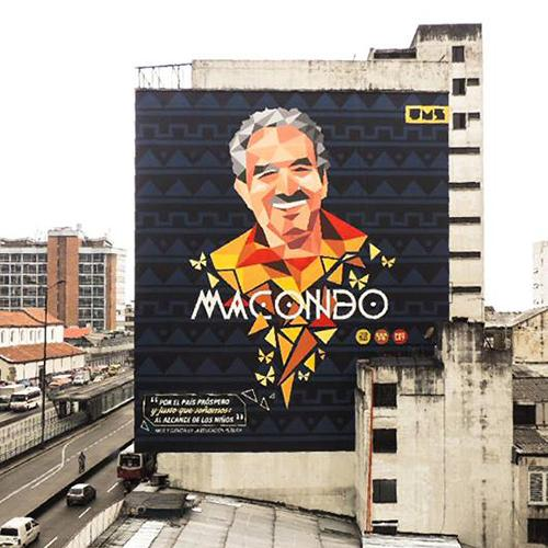 mural macondo centro bogota