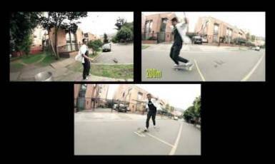 Más de 30 Decámetros en Dos Ruedas - Skateboarding