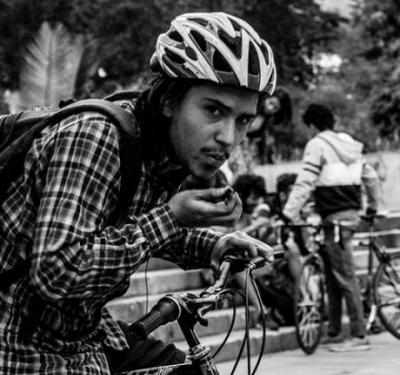 Séptima bicicletada cannábica en Bogotá cuadrada
