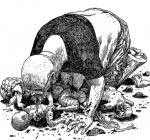 'El hombre lobo' y 'La momia': dos historias de perversión gráfica de Eduardo Belga con el tinte de Sarcófaga