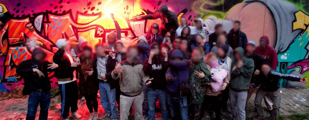 1UP: los grafiteros mundialmente reconocidos que se niegan a dar la cara