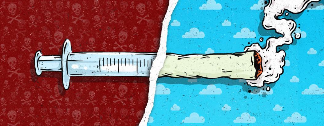 30 gramos diarios de marihuana lo salvaron de la heroína