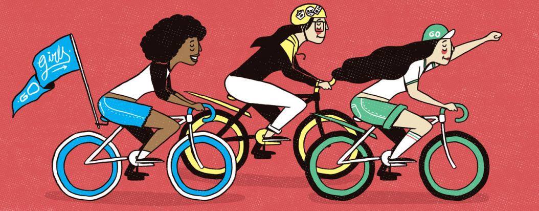 Colectivos de chicas en bici
