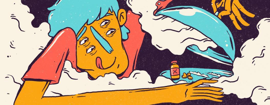 Dietas psicoactivas para equilibrar el consumo de drogas