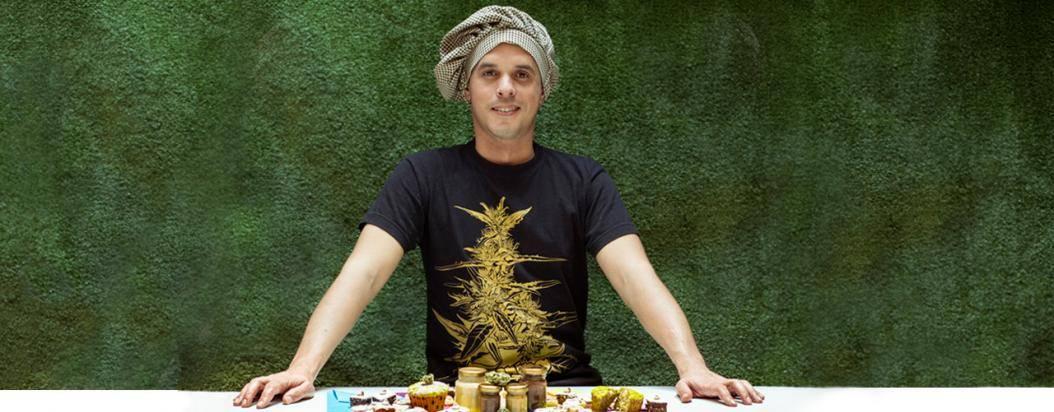 El pastelero colombiano Donatien Gateau combina el THC con distintas recetas gatronómicas