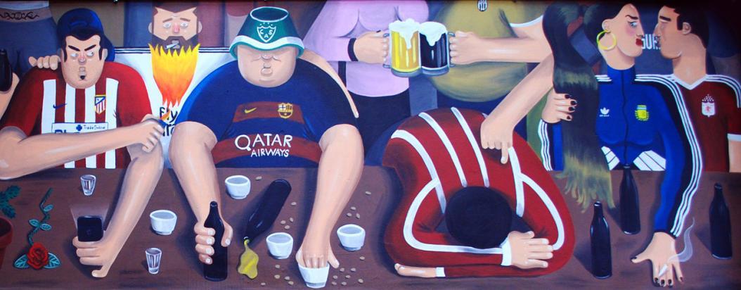 Pintura de Martín Gordopelota
